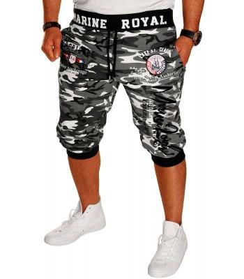 Marine Royal shorts 3/4 camo/black