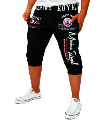 Marine Royal shorts 3/4 black