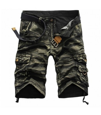 Cargo Shorts Green Camouflage