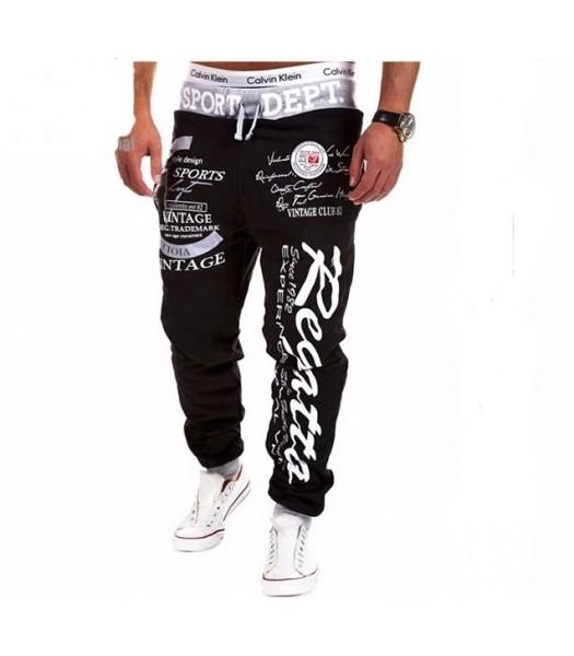 Street And Harem Pants black and grey