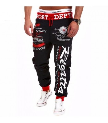 Street And Harem Pants black and red