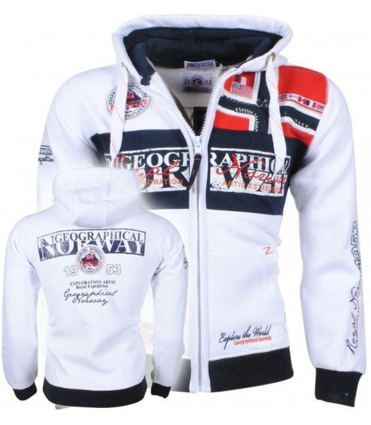 Geographical Norway Flyer Men 100 White