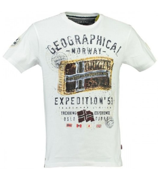Geographical Norway T-shirt Jilliam