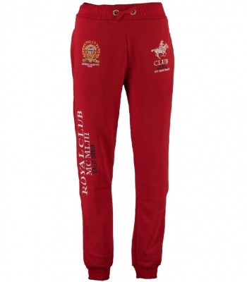 Geographical Norway Royal Club Sweatpants Red
