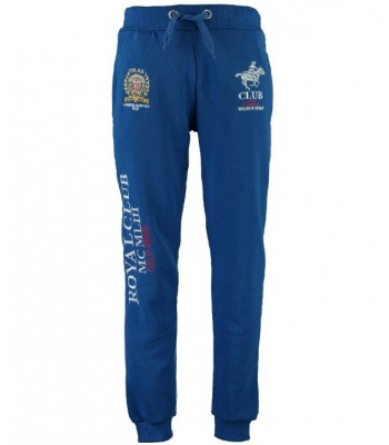 Geographical Norway Royal Club Sweatpants Royal Blue