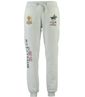Geographical Norway Royal Club Sweatpants white