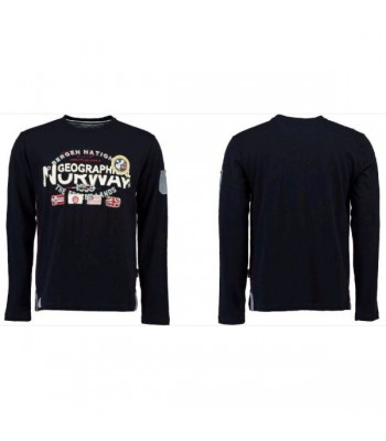 Geographical Norway T-shirt Jarbone navy