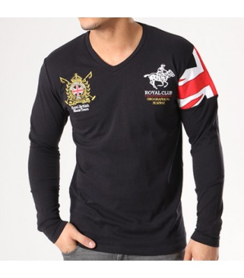 Geographical Norway T-shirt Joduk black