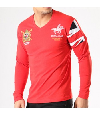 Geographical Norway T-shirt Joduk Red