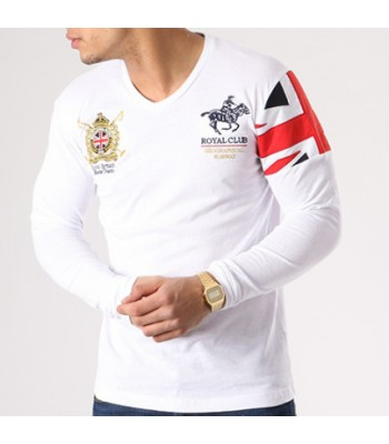 Geographical Norway T-shirt Joduk White