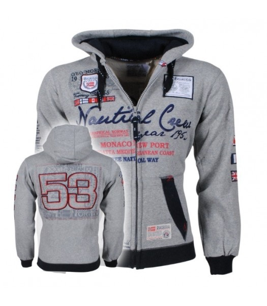 Geographical Norway Nautical Grey