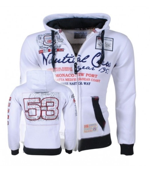 Geographical Norway Nautical White