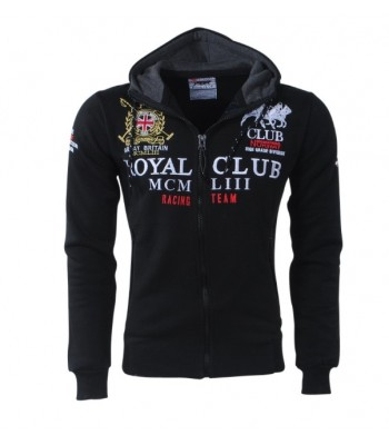 Geographical Norway Royal Club Hoddie Black