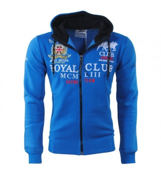 Geographical Norway Royal Club Hoddie Blue