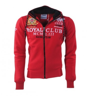 Geographical Norway Royal Club Hoddie Red