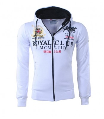 Geographical Norway Royal Club Hoddie White