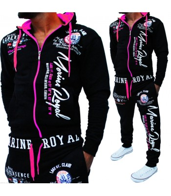 Sportsuit Naval Experience 2074 black and pink