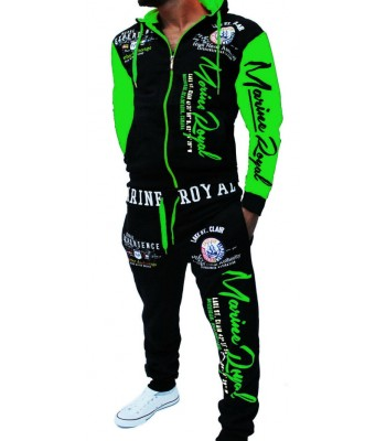 Sportsuit Naval Experience 2254 Black and Green