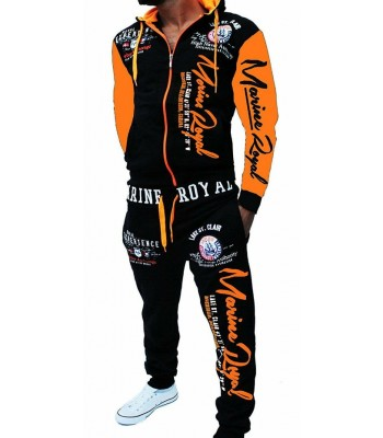 Sportsuit Naval Experience 2254 Black and Orange