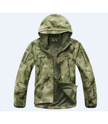 Softshell Jackets Camo Green