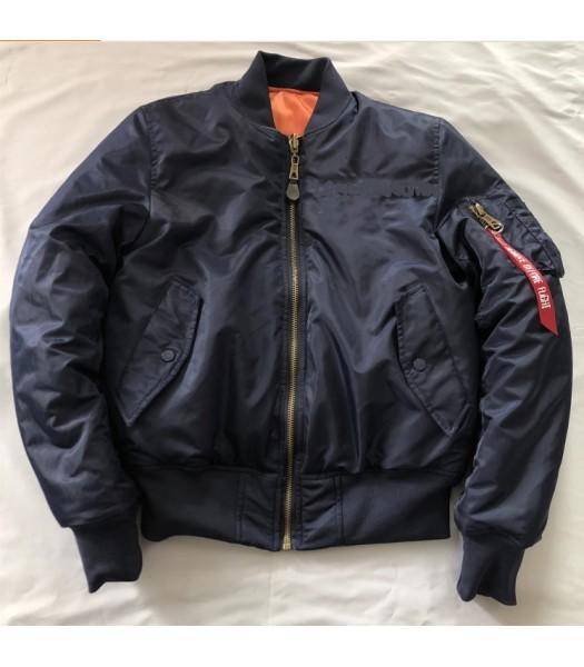 Black Bomber jacket new model