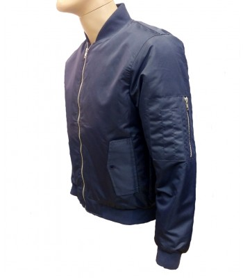 Dark Blue Bomber jacket