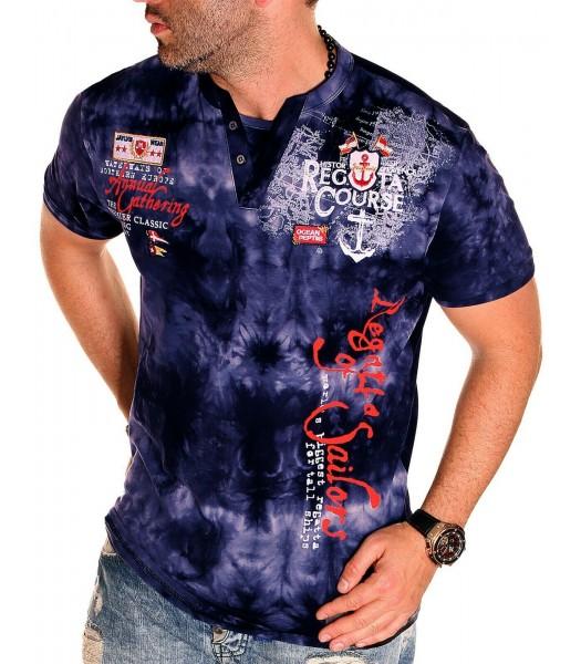 T-shirt design Regatta Course Dark Blue