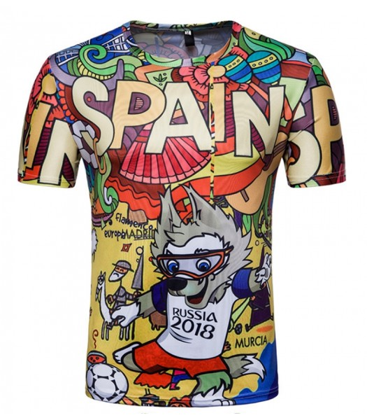 World Cup t-shirt Spain