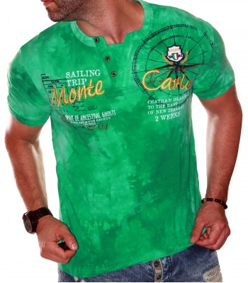 T-shirt design Monte Carlo Green