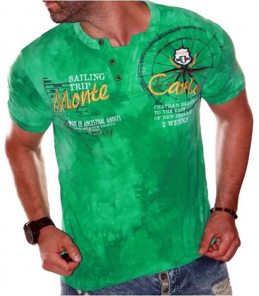 T-shirt design Monte Carlo Green