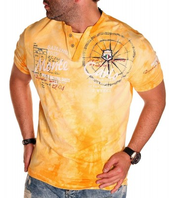 T-shirt design Monte Carlo Yellow