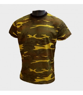 T-shirt Green Camouflage new version