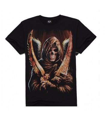 T-shirt dual sword