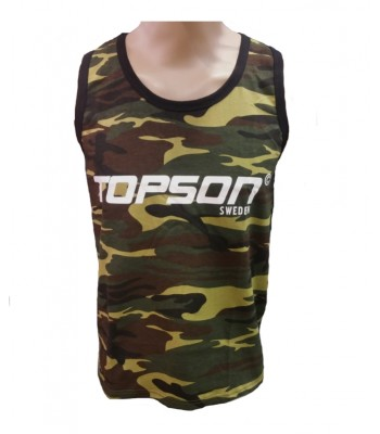 Tank Top Green Camouflage