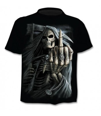 T-shirt 3D Skeleton Finger