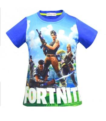 Fortnite t-shirt blå
