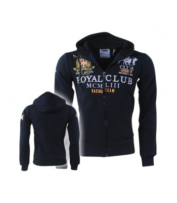 Geographical Norway Royal Club  Hoddie Navy