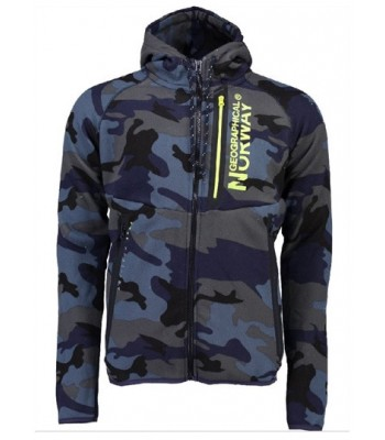 Geographical Norway Gumetal Blue Yellow