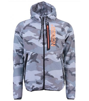 Geographical Norway Gumetal Grey Orange