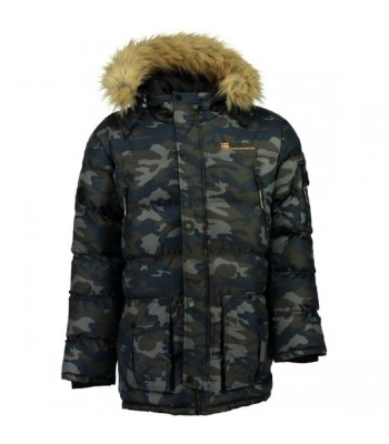 Geographical Norway Bravici Men Camo Navy