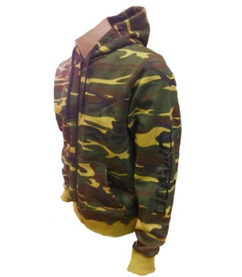 Hoodie Green Camouflage