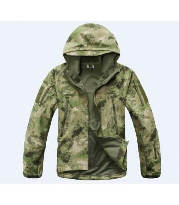 Softshell Jackets Camo Green