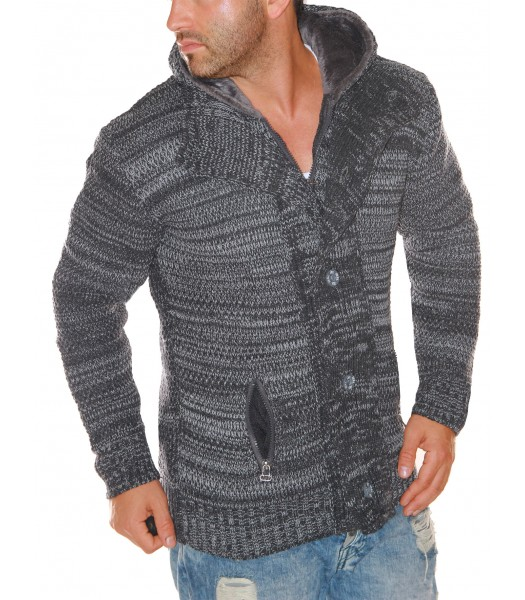 Pullover Jeel 137 anthracite