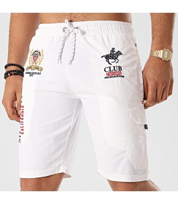 Geographical Norway Qiwi Swim shorts White
