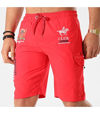 Geographical Norway Qiwi Swim shorts Red