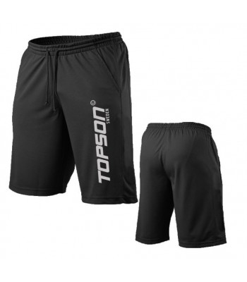 Men's Mesh Fitness Gym Shorts Black