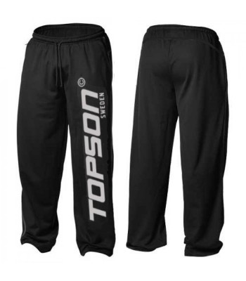 Men's Mesh Fitness Gym Pants Black