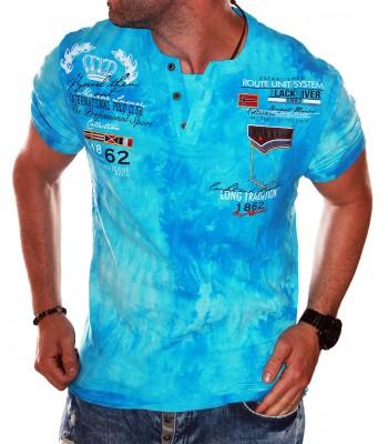 T-shirt design 1862 light blue
