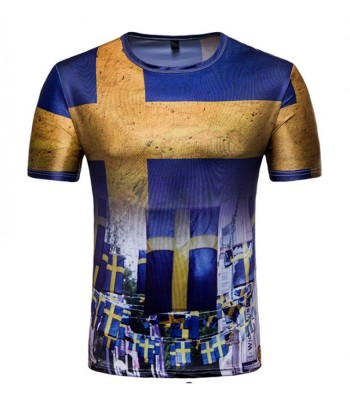 T-shirt Sweden flag