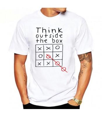 T-shirt Think Outside The Box